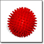 red thera ball